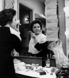 Brenda Lee in her dressing room at the Sahara in Las Vegas, NVcirca 1962Photo by Joe Shere - Image 14970_0002