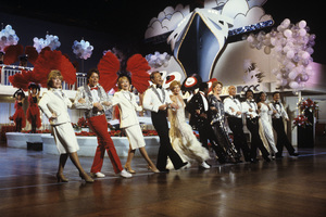 """The Love Boat""Jill Whelan, James A. Osmond, Lauren Tewes, Bernie Kopell, Juliet Prowse, Ben Vereen, Alexis Smith, Gavin MacLeod, Ted Lange, Melba Moore, Fred Grandy1984Photo by Ron Grover - Image 1524_0018"