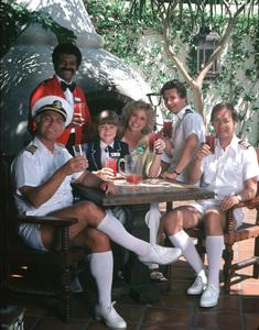 """Love Boat, The""Gavin MacLeod, Ted Lange, Jill Whelan, Lauren Tewes, Fred Grandy, Bernie Kopell © 1979 ABC / MPTV - Image 1524_0093"