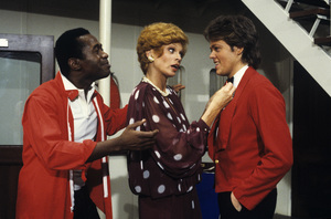 """""""The Love Boat""""Ben Vereen, Juliet Prowse, James A. Osmond1984Photo by Ron Grover - Image 1524_0221"""
