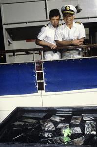 """The Love Boat""Fred Grandy, Gavin MacLeod1978© 1978 Gene Trindl - Image 1524_0223"