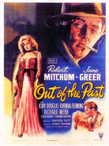 """""""Out of the Past""""Poster1947 RKO**I.V. - Image 1552_0002"""