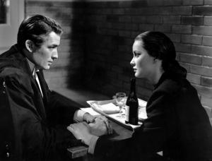 """The Paradine Case""Gregory Peck and Alida Valli1947 United Artists** I.V. - Image 1559_0020"