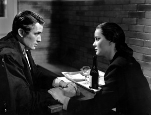 """The Paradine Case""Gregory Peck and Alida Valli1947 United Artists** I.V. - Image 1559_0020"