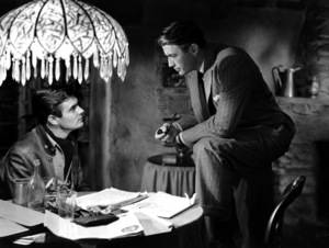 """""""The Paradine Case""""Louis Jourdan and Gregory Peck1947 United Artists**I.V. - Image 1559_0025"""