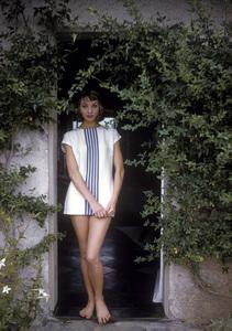 Elsa Martinelliin Portofino, Italy1/10/1955 © 1978 Mark Shaw - Image 16013_0004