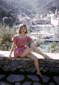 Elsa Martinelliin Portofino, Italy1/10/1955 © 1978 Mark Shaw - Image 16013_0005