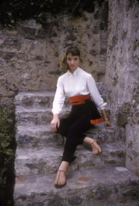 Elsa Martinelliin Portofino, Italy1/10/1955 © 1978 Mark Shaw - Image 16013_0007