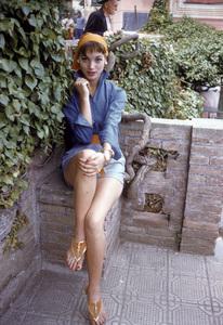 Elsa Martinelliin Portofino, Italy1/10/1955 © 1978 Mark Shaw - Image 16013_0008