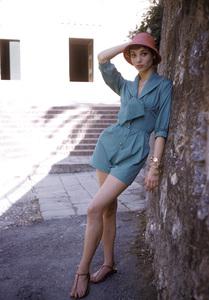 Elsa Martinelliin Portofino, Italy1/10/1955 © 1978 Mark Shaw - Image 16013_0010