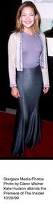 """Insider, The"" Premiere,Kate Hudson.  10/28/99. © 1999 Glenn Weiner - Image 16048_0100"