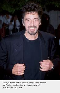 """Insider, The"" Premiere,Al Pacino.  10/28/99. © 1999 Glenn Weiner - Image 16048_0104"