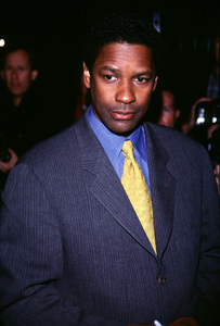 """Bone Collector, The"" Premiere,Denzel Washington © 1999 Ariel Ramerez - Image 16049_0009"