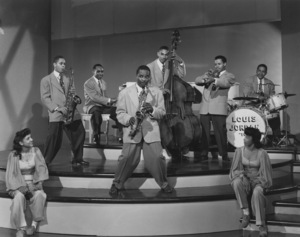 Louis Jordan and his Tympany Five in a Universal shortcirca 1940s** I.V.M. - Image 16081_0004