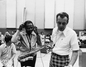 Louis Jordan with Dave Steinmeyer and Dave Napiercirca 1970s** I.V.M. - Image 16081_0005