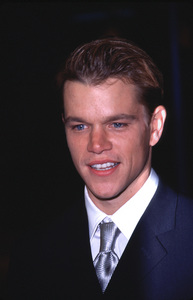 "Matt Damon at the Premiereof ""The Talented Mr. Ripley,""12/12/99. © 1999 Scott Weiner - Image 16240_0001"