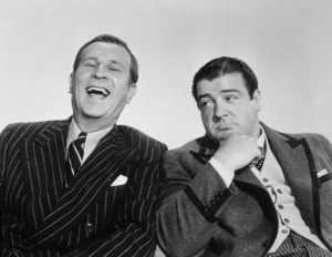 """""""Abbott and Costello in Hollywood""""Bud Abbott, Lou Costello / 1945 MGM - Image 1634_0001"""