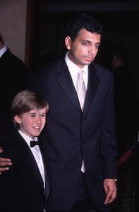 """Directors Guild Awards - 52nd Annual,""Haley Joel Osment & McNight Shyamalan.  3/11/00. © 2000 Glenn Weiner - Image 16345_0004"