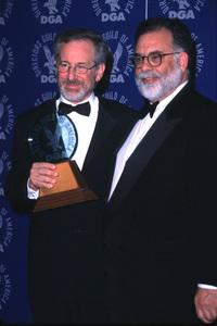 """Directors Guild Awards - 52nd Annual,""Steven Spielberg & Francis Coppola.  3/11/00. © 2000 Glenn Weiner - Image 16345_0014"