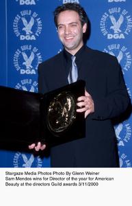 """""""Directors Guild Awards - 52nd Annual,""""Sam Mendes. 3/1//00. © 2000 Glenn Weiner - Image 16345_0103"""