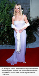 "Britney Spearsattends ""Billboard Awards: 1999,"" 12/4/99. © 1999 Glenn Weiner - Image 16346_0102"
