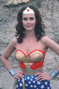 """Wonder Woman""Lynda Carter1976 / ABC / MPTV**H.L. - Image 1640_0011"