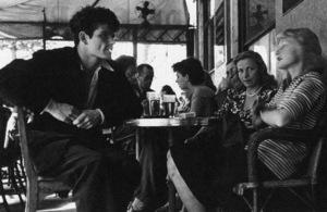 The Cafe de Flore in Montparnassecirca 1950s© 1978 Sanford Roth - Image 16406_0020