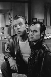 """""""Laverne & Shirley""""Michael McKean, David L. Lander1979© 1979 Gene Trindl - Image 1641_0127"""