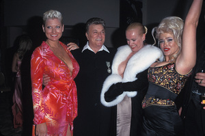 """Night of 100 Stars""Jill Vandenberg, Tony Curtis,  Jean Kasem,  Anna Nicole SmithMarch 26, 2000 © 2000 Scott Weiner - Image 16467_0006"