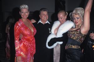 """Night of 100 Stars""Jill Vandenberg, Tony Curtis,  Jean Kasem,  Anna Nicole SmithMarch 26, 2000 © 2000 Scott Weiner - Image 16467_0006"