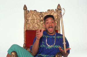 """""""Fresh Prince of Bel Air""""Will Smith1990 © 1990 Mario Casilli - Image 16486_0041"""