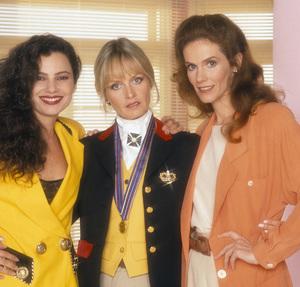 """Princesses""Fran Drescher, Twiggy Lawson, Julie Hagerty1991 © 1991 Mario Casilli - Image 16500_0006"