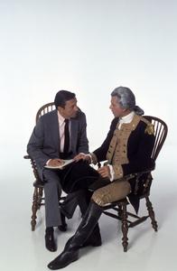 """George Washington""Mike Wallace, Barry Bostwick1984 © 1984 Mario Casilli - Image 16522_0001"