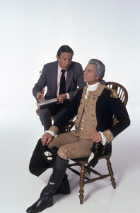 """George Washington""Mike Wallace, Barry Bostwick1984 © 1984 Mario Casilli - Image 16522_0002"