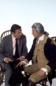 """George Washington""Mike Wallace, Barry Bostwick1984 © 1984 Mario Casilli - Image 16522_0004"
