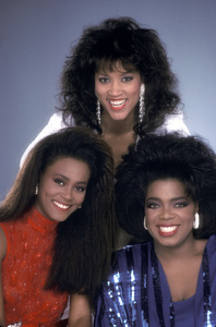 """The Women of Brewster Place"" Robin Givens, Jackee Harry, Oprah Winfrey1989 © 1989 Mario Casilli - Image 16523_0005"
