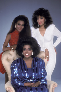 """The Women of Brewster Place"" Oprah Winfrey, Robin Givens, Jackee Harry 1989 © 1989 Mario Casilli - Image 16523_0008"