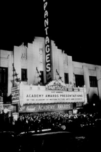 """Academy Awards: 31st Annual,""Pantages Theater.  1959.Photo by Ernest E. ReshovskyCopyright 1978 Marc Reshovsky - Image 16528_0001"