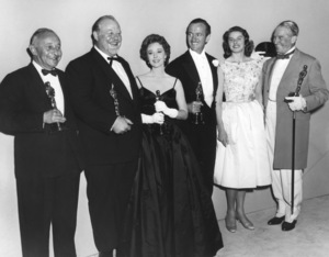 """Academy Awards - 31st Annual""Burl Ives, Susan Hayward, David Niven, Ingrid Bergman, Maurice Chevalier1959**I.V. - Image 16528_0036"