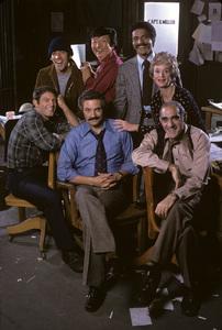 """Barney Miller""Max Gail, Gregory Sierra, Jack Soo, Ron Glass, Barbara Barrie, Hal Linden, Abe Vigoda1976 © 1978 Mario Casilli - Image 16530_0002"