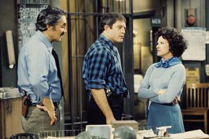 """""""Barney Miller""""Hal Linden, Max Gail, Linda Lavin1975** H.L. - Image 16530_0044"""