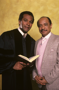 """Amen""Clifton Davis, Sherman Hemsley1987© 1987 Mario Casilli - Image 16531_0012"