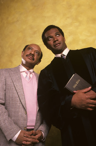 """Amen""Clifton Davis, Sherman Hemsley1987© 1987 Mario Casilli - Image 16531_0015"