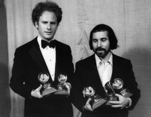 "Paul Simon and Art Garfunkel at ""The 13th Annual Grammy Awards""1970** I.V.M. - Image 16532_0009"