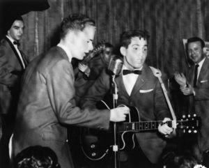 Paul Simon and Art Garfunkelcirca 1957** I.V.M. - Image 16532_0013