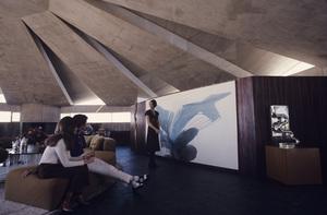 John Lautner house in Palm Springs, California (aka Bob Hope house)circa 1960s© 1978 Mario Casilli - Image 16543_0009