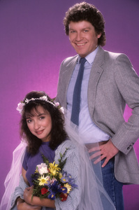 """I Married Dora""Elizabeth Pena, Daniel Hugh Kelly1987© 1987 Mario Casilli - Image 16549_0003"