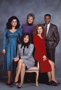 """Designing Women""Delta Burke, Jean Smart, Meshach Taylor, Dixie Carter, Annie Potts1988 © 1988 Gene Trindl - Image 1660_0004"