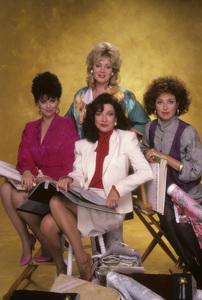 """Designing Women"" Delta Burke, Dixie Carter, Jean Smart, Annie Potts 1986 © 1986 Mario Casilli - Image 1660_0041"