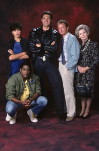 """Downtown""Millicent Martin, Michael Nouri, Blair Underwood, Mariska Hargitay, Robert Englund1986 © 1986 Mario Casilli - Image 16664_0004"
